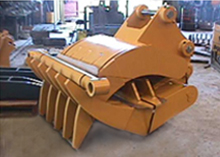 Quarry Mining Loader Attachment